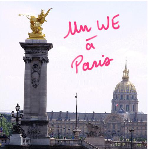 Un Week-end à Paris Guide expos