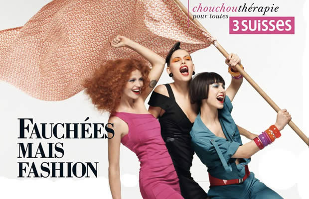 3 Suisses Fauchées mais Fashion