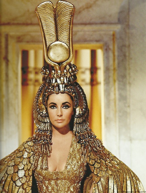 Elisabeth Taylor en Cléopâtre
