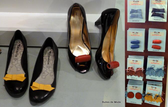 Alzanne - Clips Chaussures Cuir