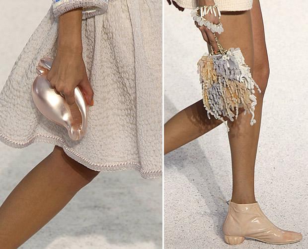 Chanel Eté 2012 sac corail et coquillage