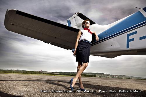 Edito GIL - Bulles de Mode - Air Force & Beauty - Hôtesse & Aventurière (5)