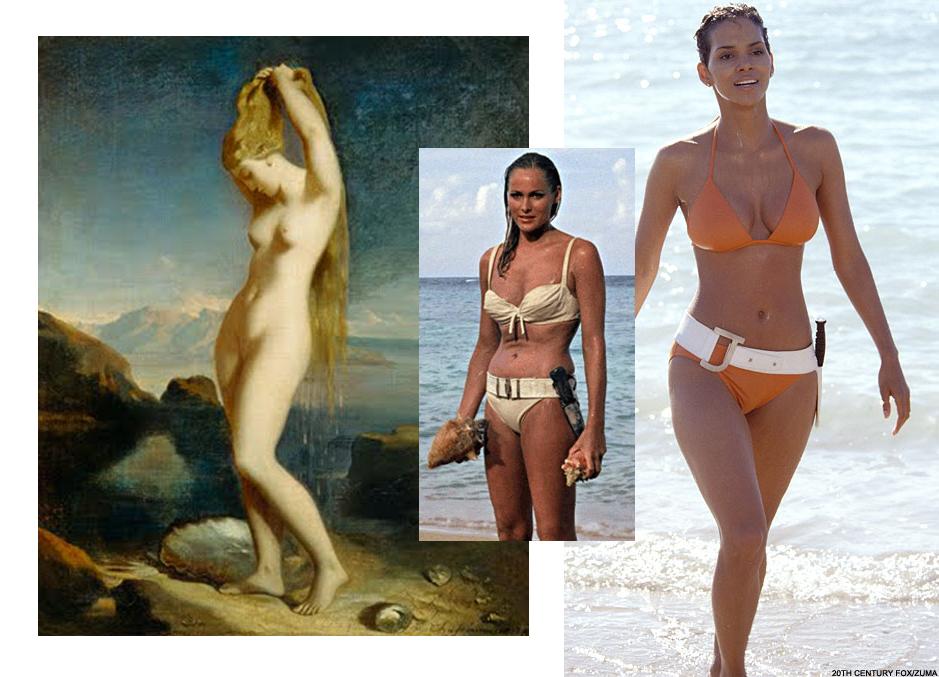 Vénus - Sirène - Cinéma James Bond Halle Berry & Ursula Andres