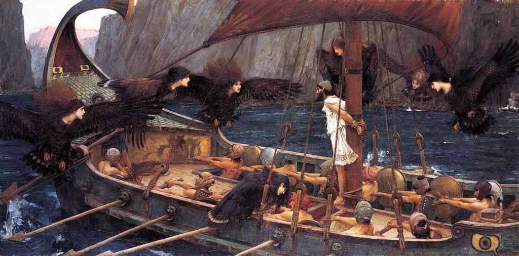 Waterhouse - Ulysse et les sirènes 1891