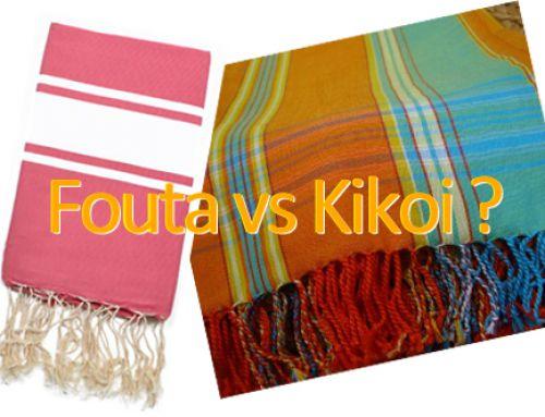 Tendance : Fouta vs Kikoi, les nouveaux draps de plage de l'été