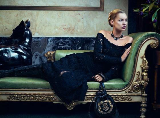 Kate-Moss-Salvatore-Ferragamo Automne 2012