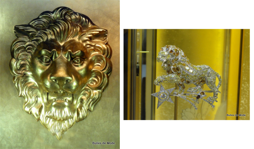 26ème Biennale Antiquaires 2012 Joaillerie Lion Chanel