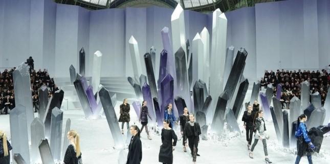 Chanel Défilé Cristal de Roche Minéral Tendance