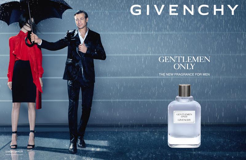 Gentlemen Only Parfum Givenchy Humour dans la mode