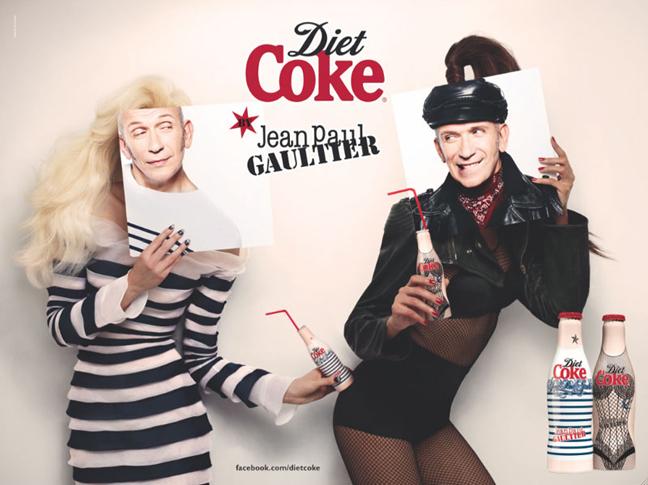 Jean-Paul Gaultier Coca Cola Light Eté 2012