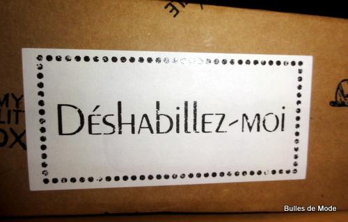 My Little Box Couture Jean-Paul Gaultier Déshabillez-moi !