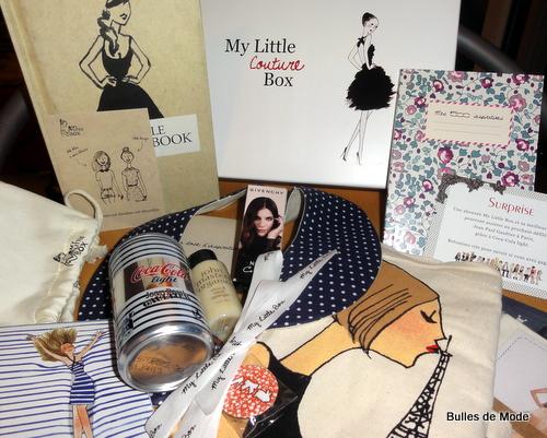 My Little Box Couture Jean-Paul Gaultier Surprises
