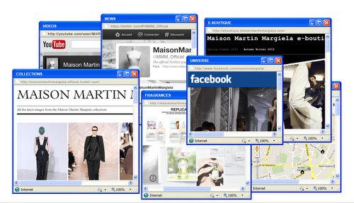 Maison Martin Margiela Innovation Site Web
