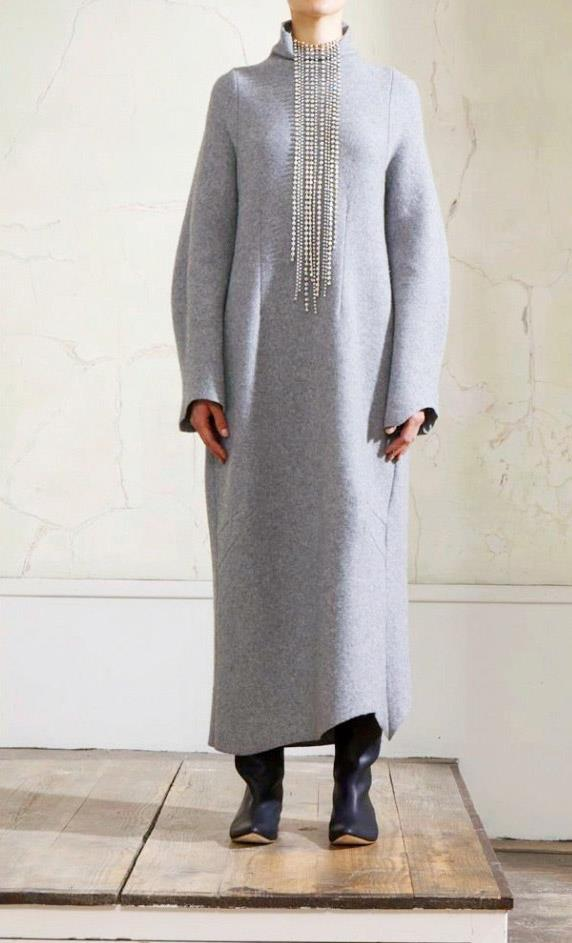 Martin Margiela H&M chasuble grise