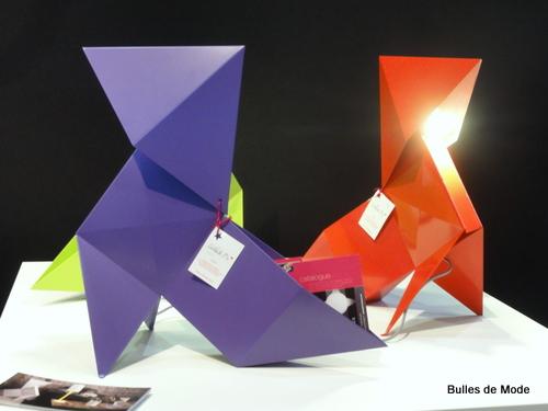 Salon Home Hommage aux Designers de Rhône-Alpes Cocottes acier de Nathalie Be