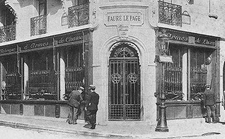 Boutique Fauré Le Page 1920s