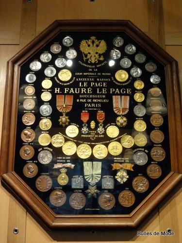 Boutique Fauré Le Page Cambon it-bag monogramme récompenses du XIXème