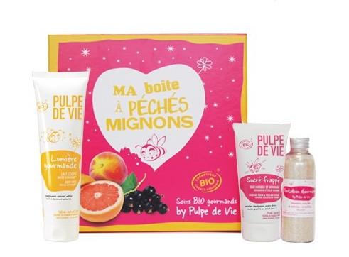 Coffret Cadeau Noël Pulpe de Vie Soins Bio