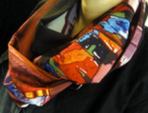 Reportage : remise du foulard BettyJanis créé pour Mathilde dans la nouvelle boutique de la marque !