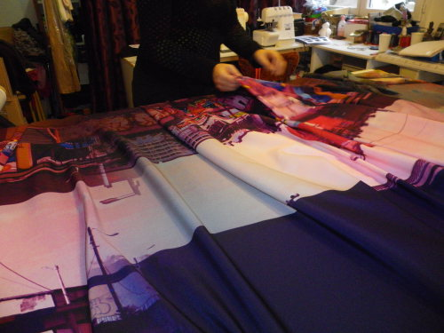 Impression et fabrication du foulard BettyJanis (3)