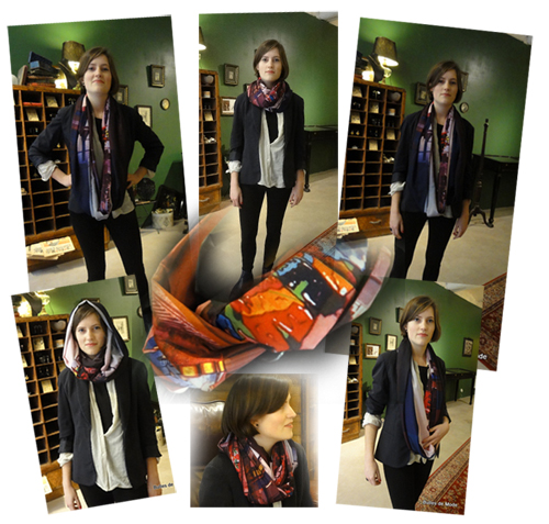 Un foulard BettyJanis 10 styles