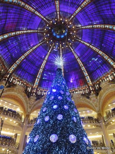 Vitrines de Noël 2012 Paris Galeries Lafayette Sapin