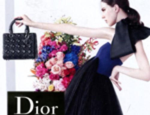 Mode Eté 2013, prêt-à-porter Dior by Raf Simons : la nouvelle pub !