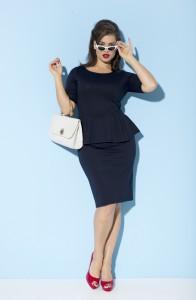 Tara Lynn styliste pour La Redoute Taillissime Collection Pin Up Eté 2013 (1)