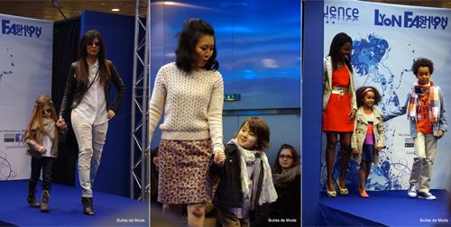 Défilé de mode Confluence Lyon Fashion City Maman-Enfant