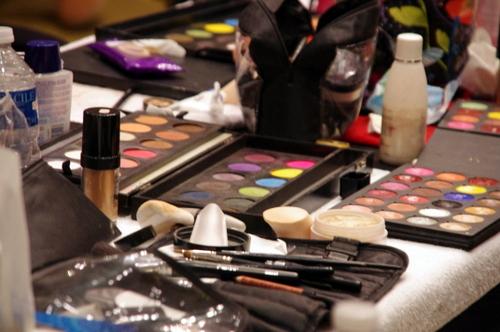 Lyon Fashion CIty Backstage Maquillage