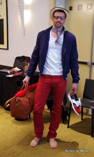 Mode et Tendances Homme, Benjamin par Bulles de Mode