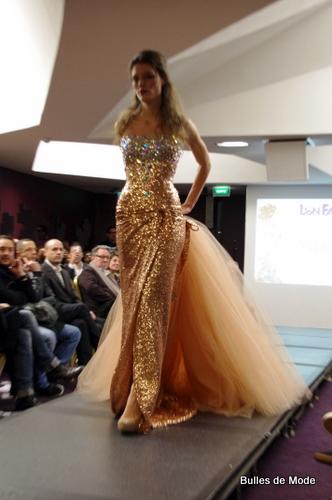 Robe Miss France Nicolas Fafiotte Défilé Femmes Mode Lyon