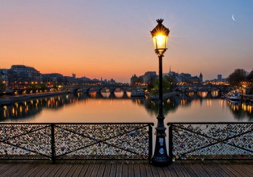 Cadenas Pont des Arts Lock and Love Philippe Tournaire