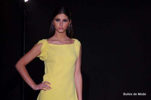 Défilé de mode Lyon Couturier Max Chaoul