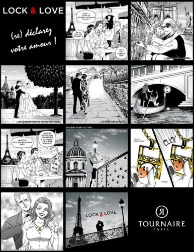 Manga Lock and Love Philippe Tournaire