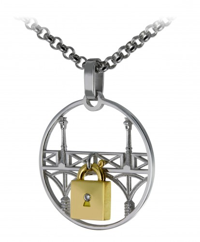 Philippe Tournaire Lock and love Rond
