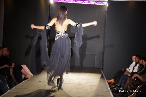 Robe Max Chaoul Défilé de mode
