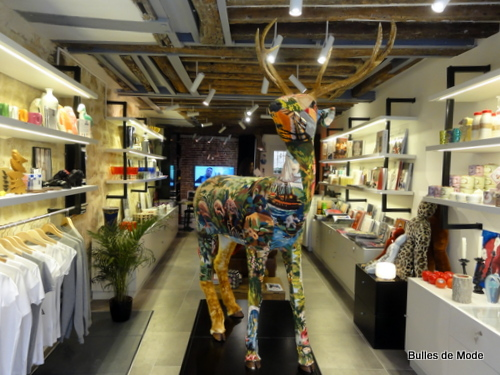 Patsy jones nouvelle boutique d co sympa du marais paris bulles de mode - Concept store marais ...