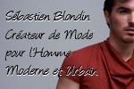 Sébastien Blondin Créateur de Mode Homme 150