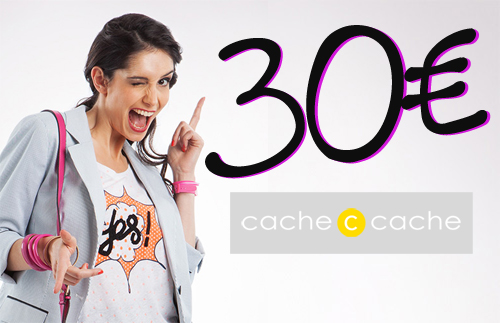 Concours Cache Cache Gagnez 30euros