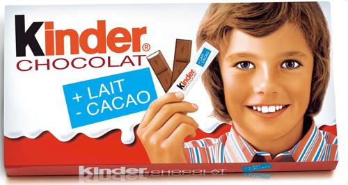 Kinder Chocolat 80s