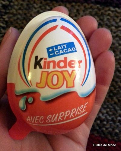 Kinder Joy nouveauté !