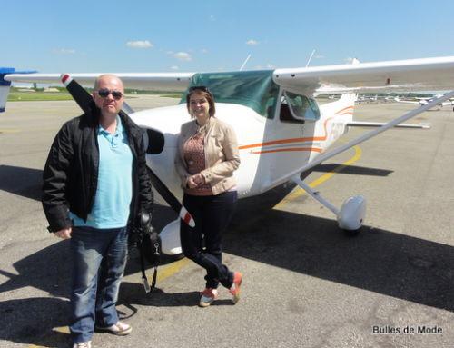 Idée cadeau et découverte : piloter un avion à Lyon avec Planet'Pilote !