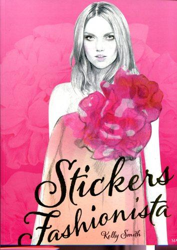 Stickers Fashionista Fashion Week Marabout by Kellu Smith