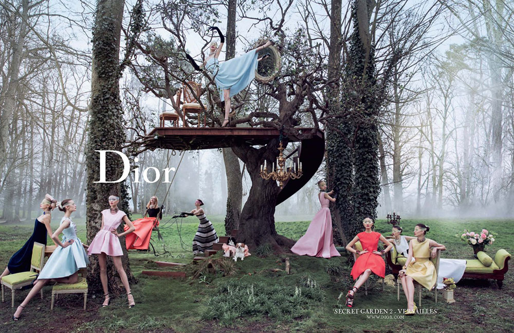 Dior Secret Garden Versailles 2 Raf Simons