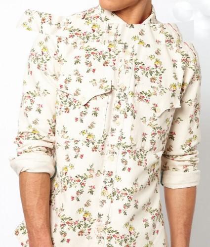 Tendance Mode Homme Chemise Fleurs Asos