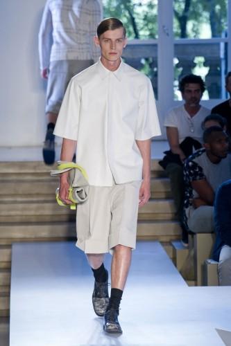 Tendances Mode Eté 2014 Hommes Jil Sander Manche