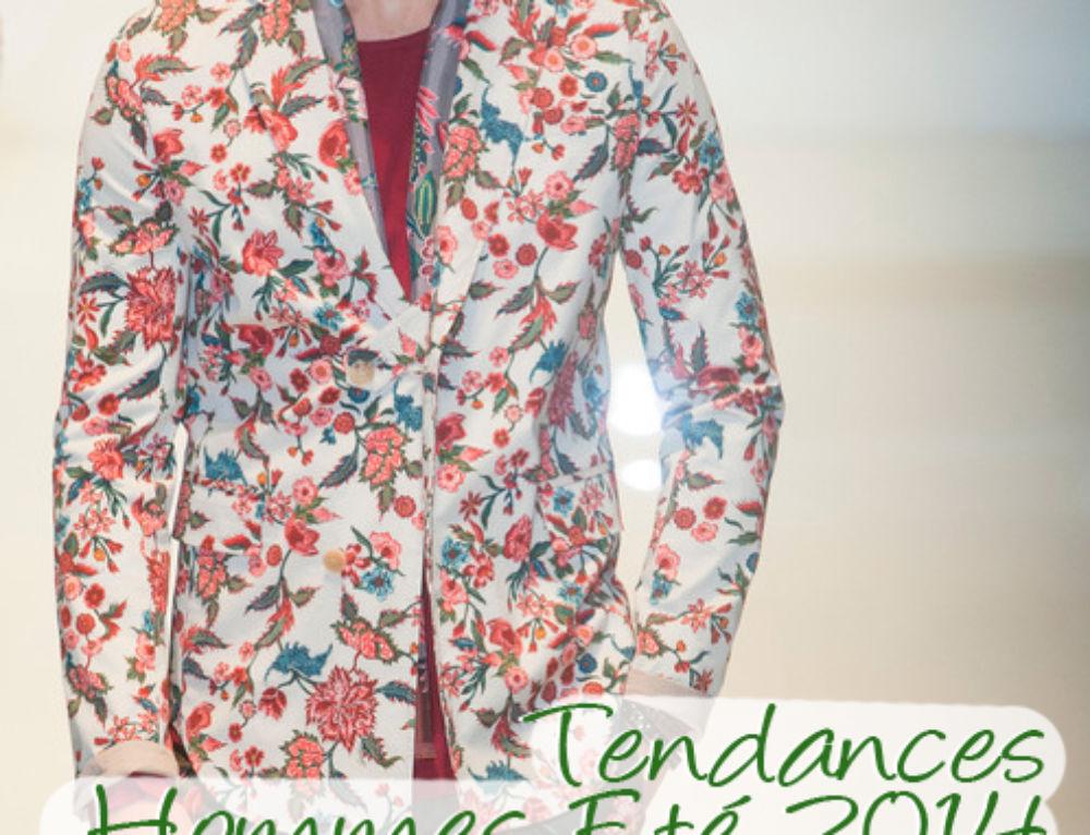 Les 5 Tendances Mode Homme Eté 2014 à adopter tout de suite !