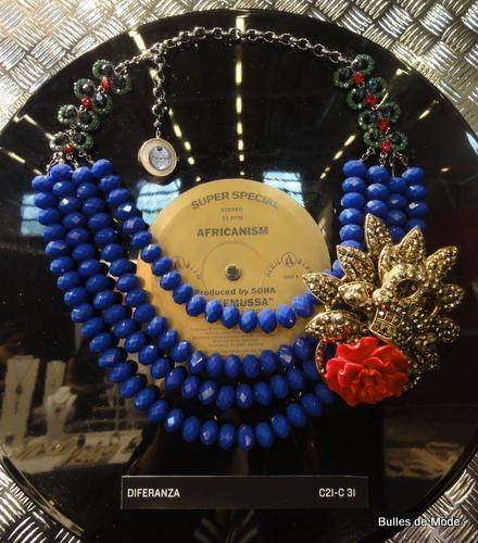 Bijoux Tendances le collier plastron Diferanza Bijorhca 2013