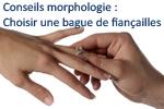 COnseil morphologie bague de fiançailles